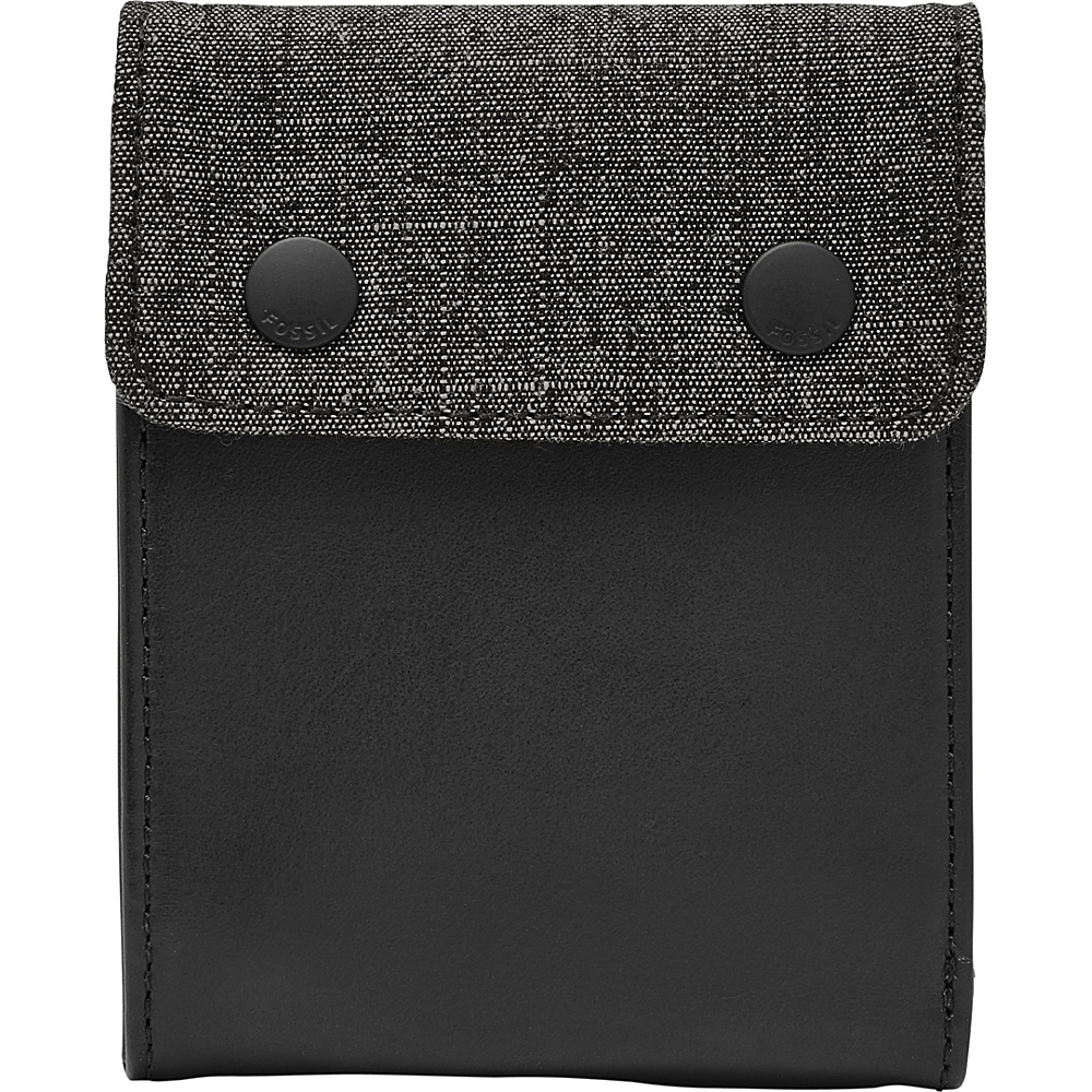 Fossil Rex RFID Bifold Grey - Fossil Mens Wallets - Work Bags & Briefcases, Men's Wallets