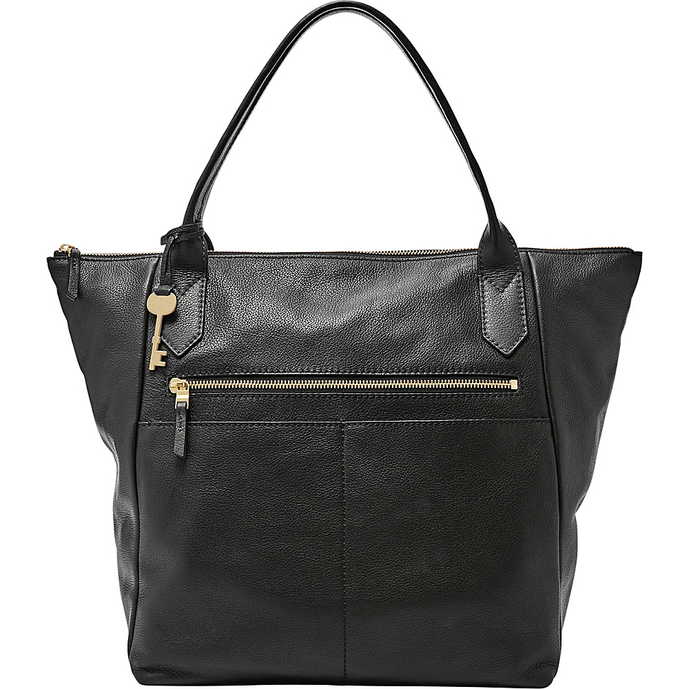 Fossil Fiona Tote Black - Fossil Leather Handbags - Handbags, Leather Handbags