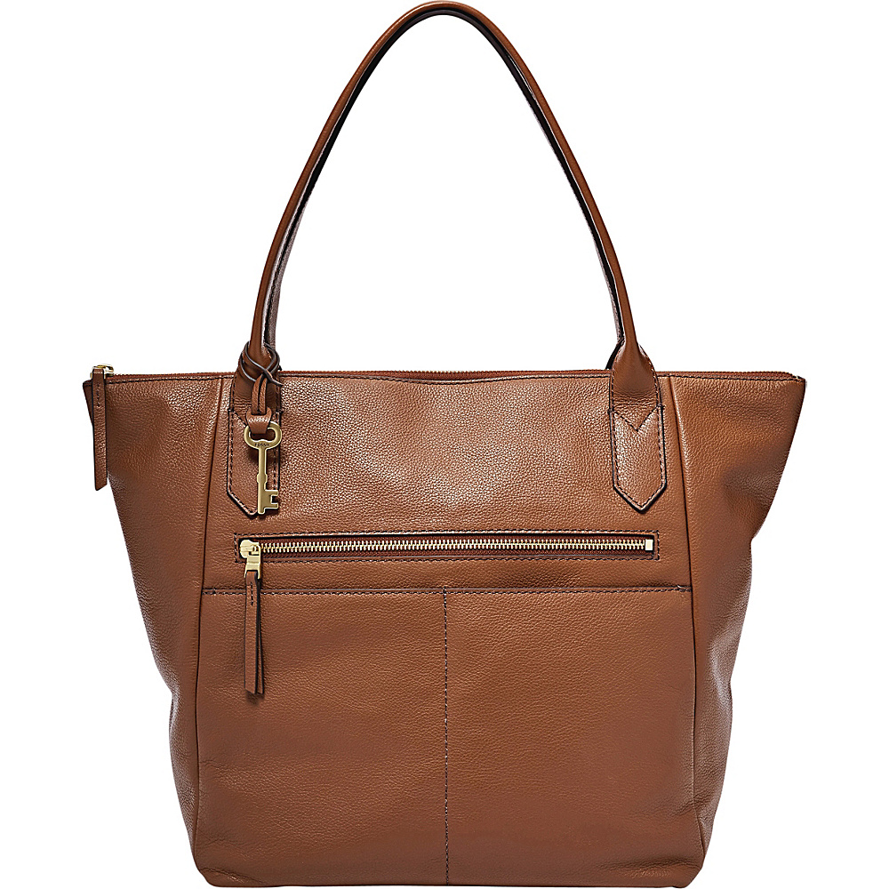 Fossil Fiona Tote Medium Brown - Fossil Leather Handbags - Handbags, Leather Handbags