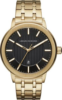 A/X Armani Exchange A/X Armani Exchange Street Watch Gold - A/X Armani Exchange Watches