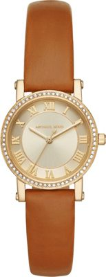 Michael Kors Watches Michael Kors Watches Petite Norie Three-Hand Watch Brown - Michael Kors Watches Watches