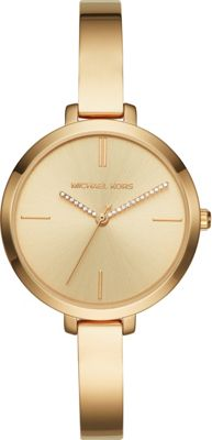 Michael Kors Watches Jaryn Three-Hand Half Bangle Watch Gold - Michael Kors Watches Watches