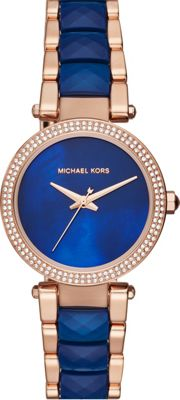 Michael Kors Watches Mini Parker Three-Hand Watch Rose Gold - Michael Kors Watches Watches