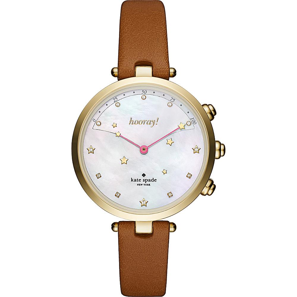 kate spade watches Holland Hybrid Smartwatch Brown - kate spade watches Watches