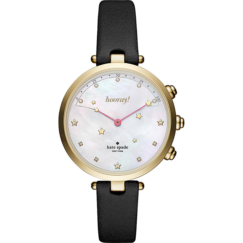 kate spade watches Holland Hybrid Smartwatch Black - kate spade watches Watches