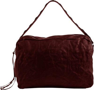 Day & Mood Aura Satchel Rusty Red - Day & Mood Leather Handbags