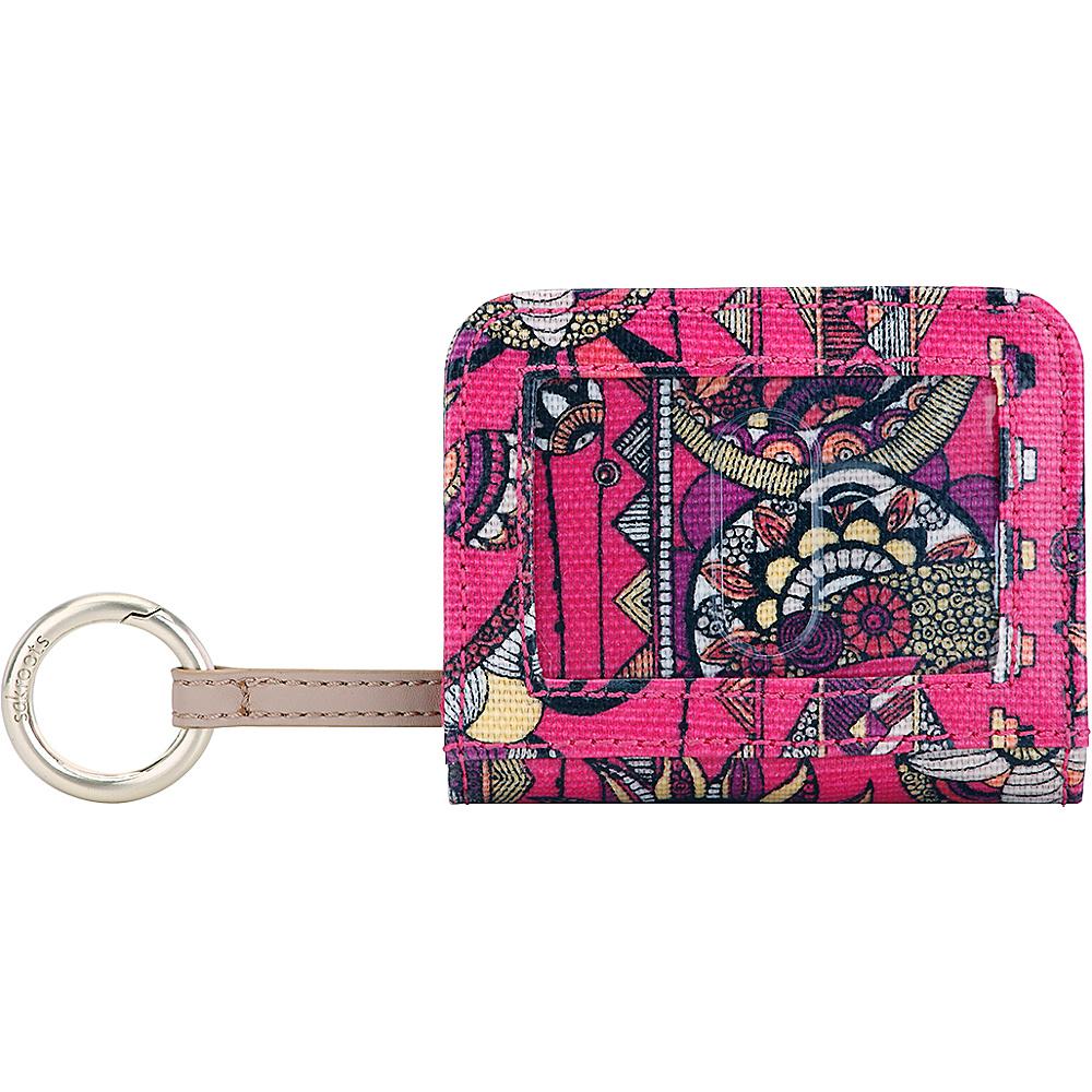 Sakroots Carryall Card Case Fuschia Spirit Desert - Sakroots Womens Wallets - Women's SLG, Women's Wallets