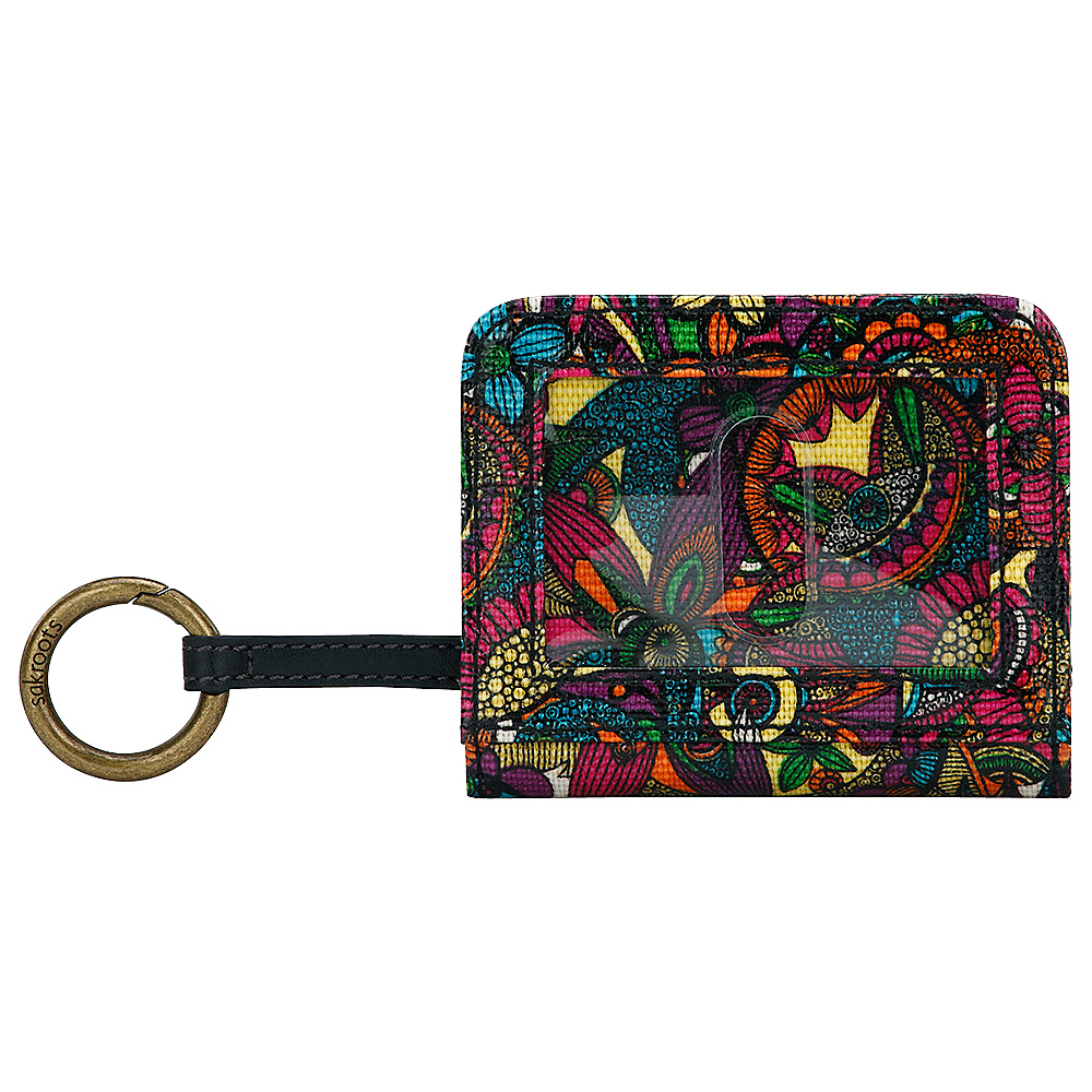 Sakroots Carryall Card Case Rainbow Spirit Desert - Sakroots Womens Wallets - Women's SLG, Women's Wallets