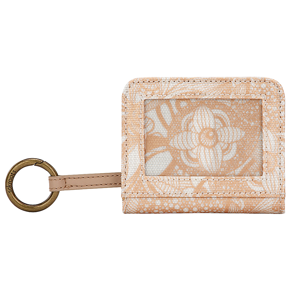 Sakroots Carryall Card Case Rose Gold Spirit Desert - Sakroots Womens Wallets - Women's SLG, Women's Wallets