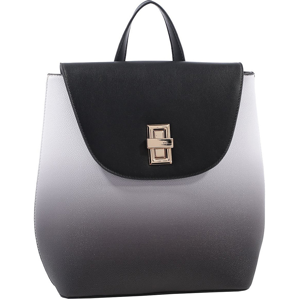 MKF Collection by Mia K. Farrow Kendra Backpack Black - MKF Collection by Mia K. Farrow Manmade Handbags - Handbags, Manmade Handbags