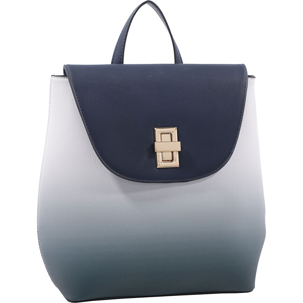 MKF Collection by Mia K. Farrow Kendra Backpack Navy - MKF Collection by Mia K. Farrow Manmade Handbags - Handbags, Manmade Handbags