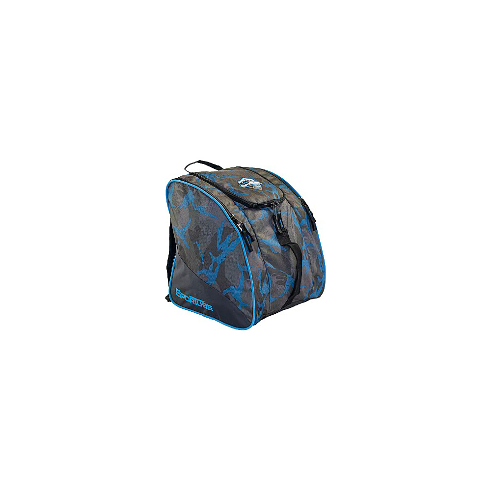 2b8beacd67 High Sierra Junior Trapezoid Boot Bag Atmosphere Black Zest - High ...