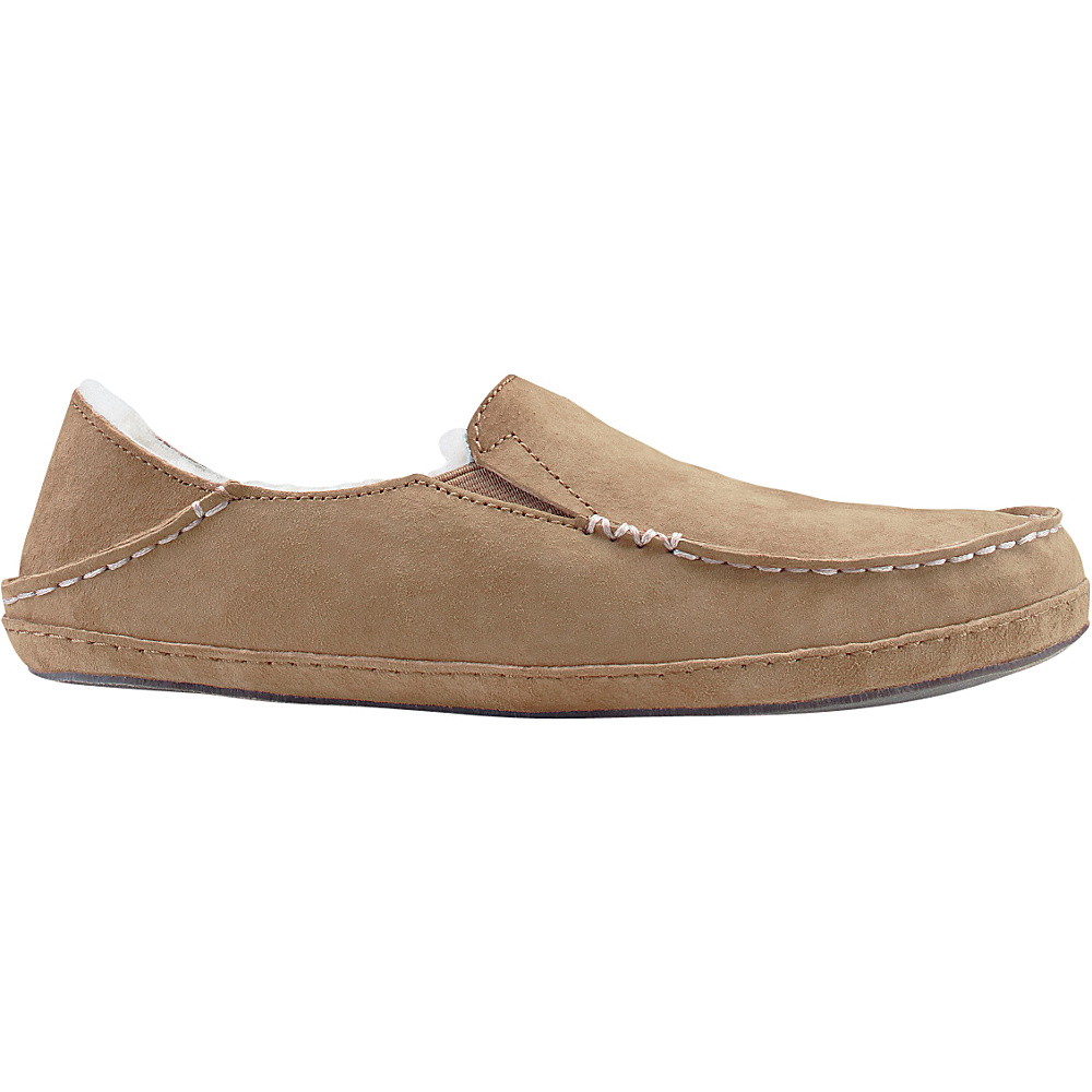 OluKai Womens Nohea Slipper 7 - Tobacco/Tobacco - OluKai Womens Footwear - Apparel & Footwear, Women's Footwear