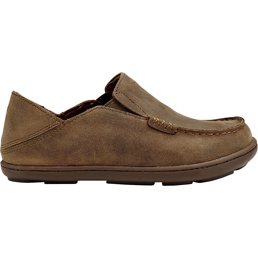 OluKai Boys Moloa Slip-On 6 (US Kids) - Ray/Tan - OluKai Mens Footwear - Apparel & Footwear, Men's Footwear