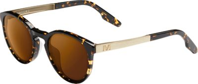 IVI Brooks Sunglasses Polished Ambercomb Tortoise - Brushed Gold - IVI Eyewear