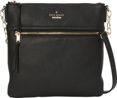 kate spade new york Jackson Street Melisse Crossbody Black - kate spade new york Designer Handbags