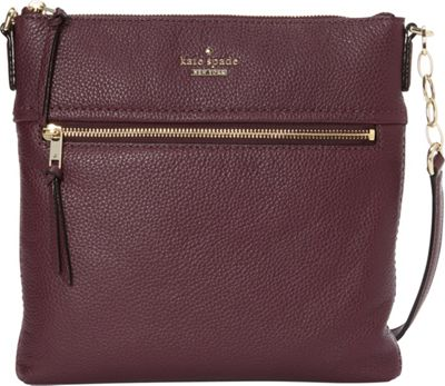 kate spade new york Jackson Street Melisse Crossbody Plum - kate spade new york Designer Handbags