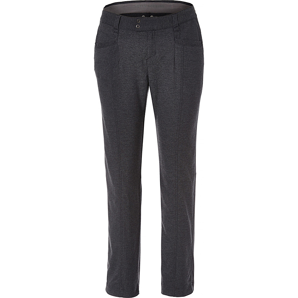 Royal Robbins Womens Herringbone Discovery Pencil Pant 4 - 30in - Charcoal - Royal Robbins Womens Apparel - Apparel & Footwear, Women's Apparel