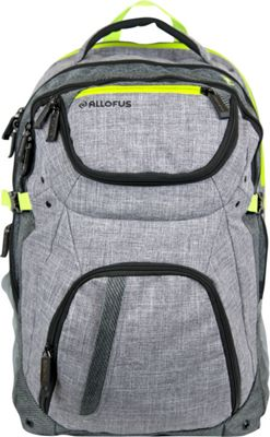 All of Us Revival Laptop Backpack Heather - All of Us Business & Laptop Backpacks