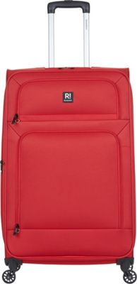 Revelation Remy Pro 30 inch Expandable Checked Spinner Luggage Red - Revelation Softside Checked