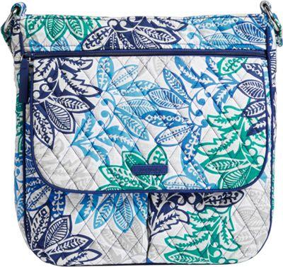 Vera Bradley Double Zip Mailbag - Retired Colors Santiago - Vera Bradley Fabric Handbags