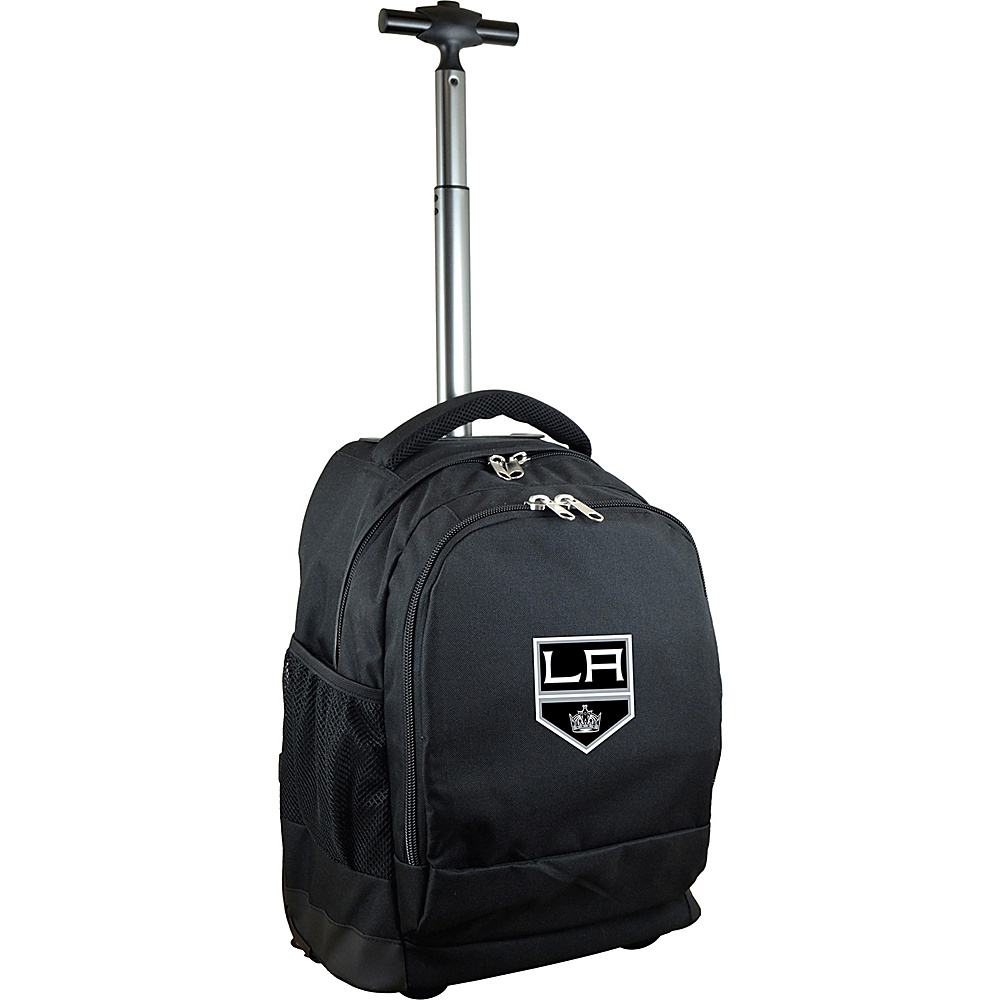 MOJO Denco NHL Premium Laptop Rolling Backpack Los Angeles Kings - MOJO Denco Rolling Backpacks - Backpacks, Rolling Backpacks