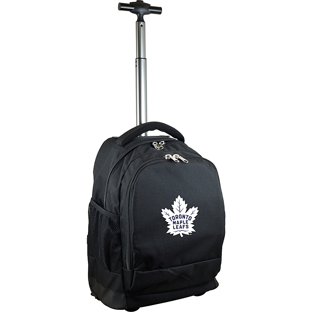 MOJO Denco NHL Premium Laptop Rolling Backpack Toronto Maple Leafs - MOJO Denco Rolling Backpacks - Backpacks, Rolling Backpacks