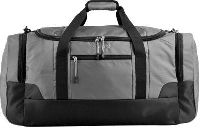Wrangler 24 inch Multi-Pocket Duffel Gray - Wrangler Travel Duffels