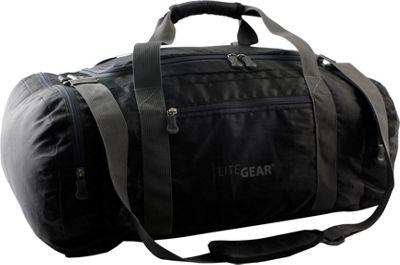 LiteGear The Duff Travel Duffel Black - LiteGear Travel Duffels