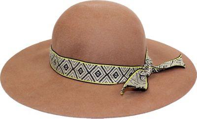 Bear Paw Tawny Round Brim Hat One Size - Tan - Bear Paw Hats/Gloves/Scarves