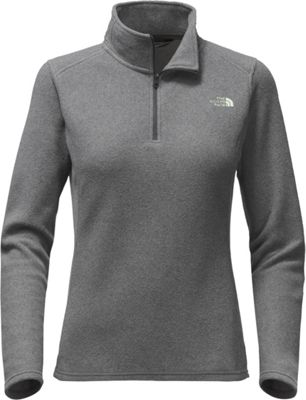 The North Face Womens Glacier 1/4 Zip XS - Tnf Dark Grey Heather - The North Face Women's Apparel