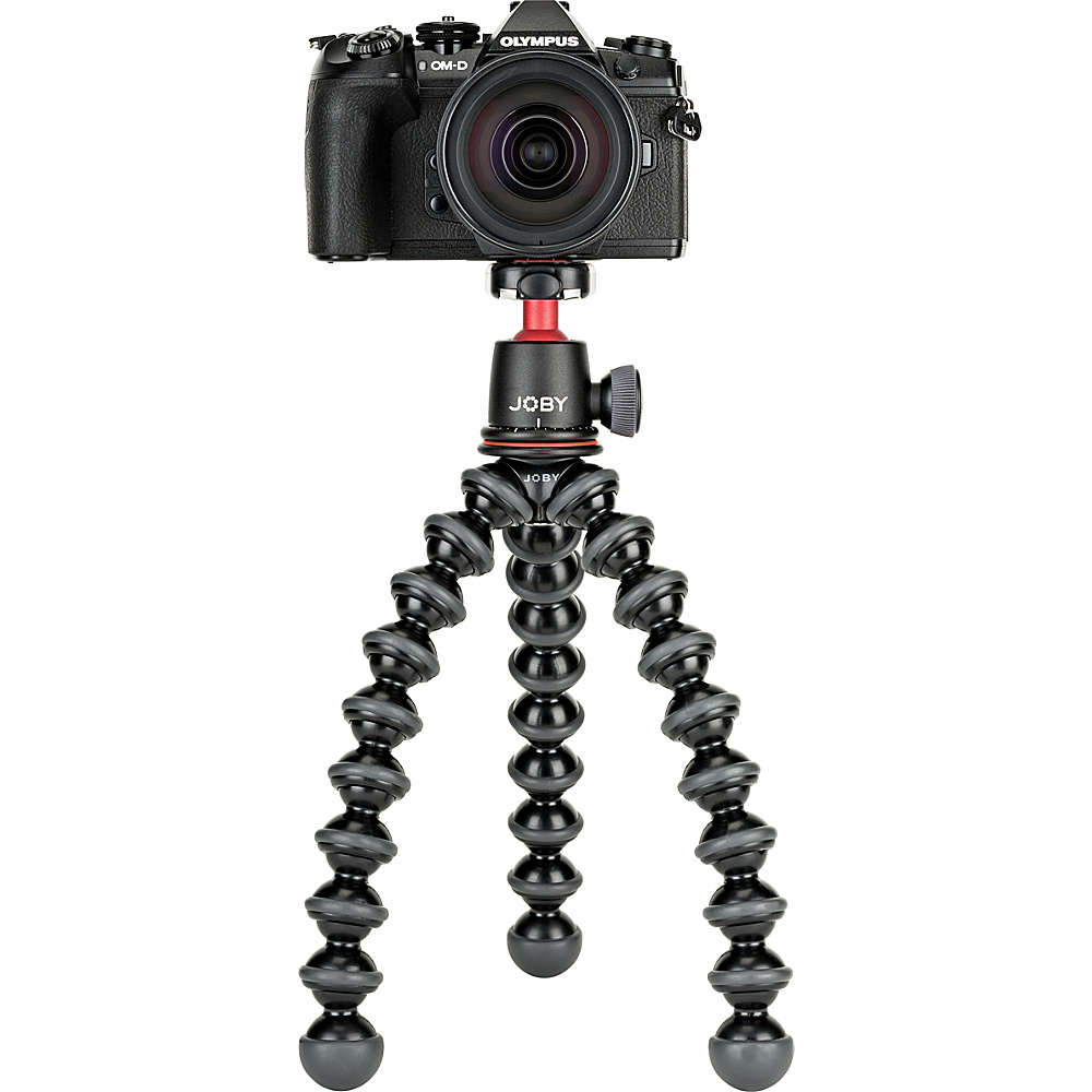 UPC 817024015077 product image for Joby GorillaPod 3K Kit Camera Stand Black/Charcoal/Red - Joby Camera Accessories | upcitemdb.com