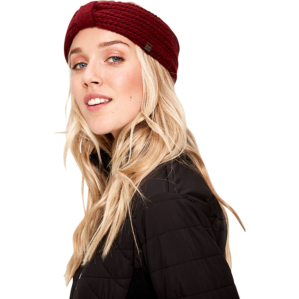 Lole Headband Rib Knit One Size - Dark Berry - Lole Hats/Gloves/Scarves - Fashion Accessories, Hats/Gloves/Scarves