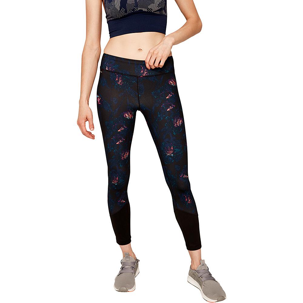 Lole Parisia Ankle Leggings L - Mirtillo Flowery Vines - Lole Womens Apparel - Apparel & Footwear, Women's Apparel