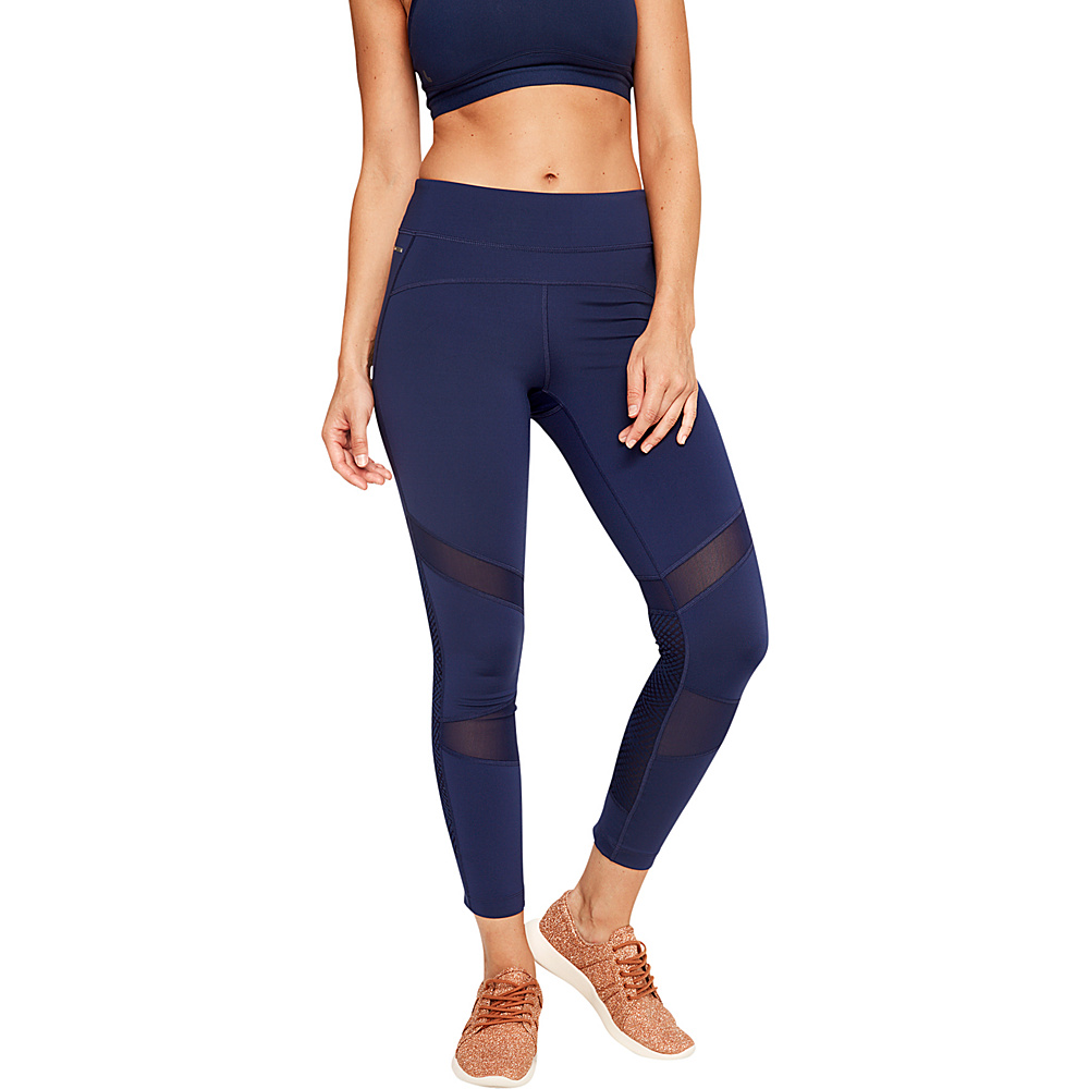 Lole Bonavy 2 Ankle Leggings M - Mirtillo Blue - Lole Womens Apparel - Apparel & Footwear, Women's Apparel