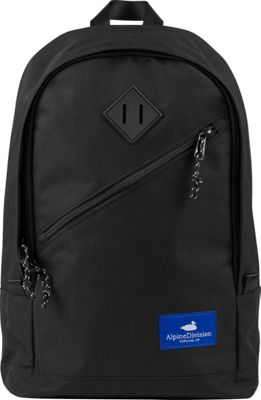 Alpine Division Eliot Laptop Backpack Black Ripstop - Alpine Division Business & Laptop Backpacks