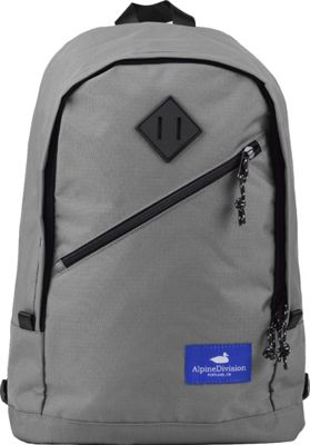 Alpine Division Eliot Laptop Backpack Grey Ripstop - Alpine Division Business & Laptop Backpacks
