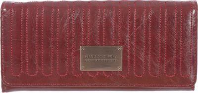 Club Rochelier Expander Clutch Wallet Red - Club Rochelier Women's Wallets