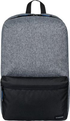 Quiksilver Night Track 24L Medium Laptop Backpack Black / Light Grey Heather - Quiksilver Laptop Backpacks