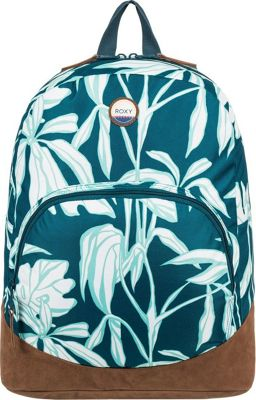 Roxy Fairness 18L Medium Backpack Reflective Pond Java Life - Roxy Everyday Backpacks