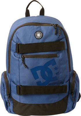 DC Shoes Men's The Breed 26L Medium Skatepack Washed Indigo - DC Shoes Everyday Backpacks