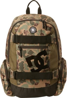 DC Shoes Men's The Breed 26L Medium Skatepack Duck Camo - DC Shoes Everyday Backpacks