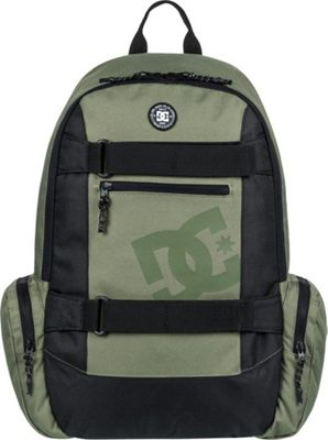 DC Shoes Men's The Breed 26L Medium Skatepack Vintage Green - DC Shoes Everyday Backpacks