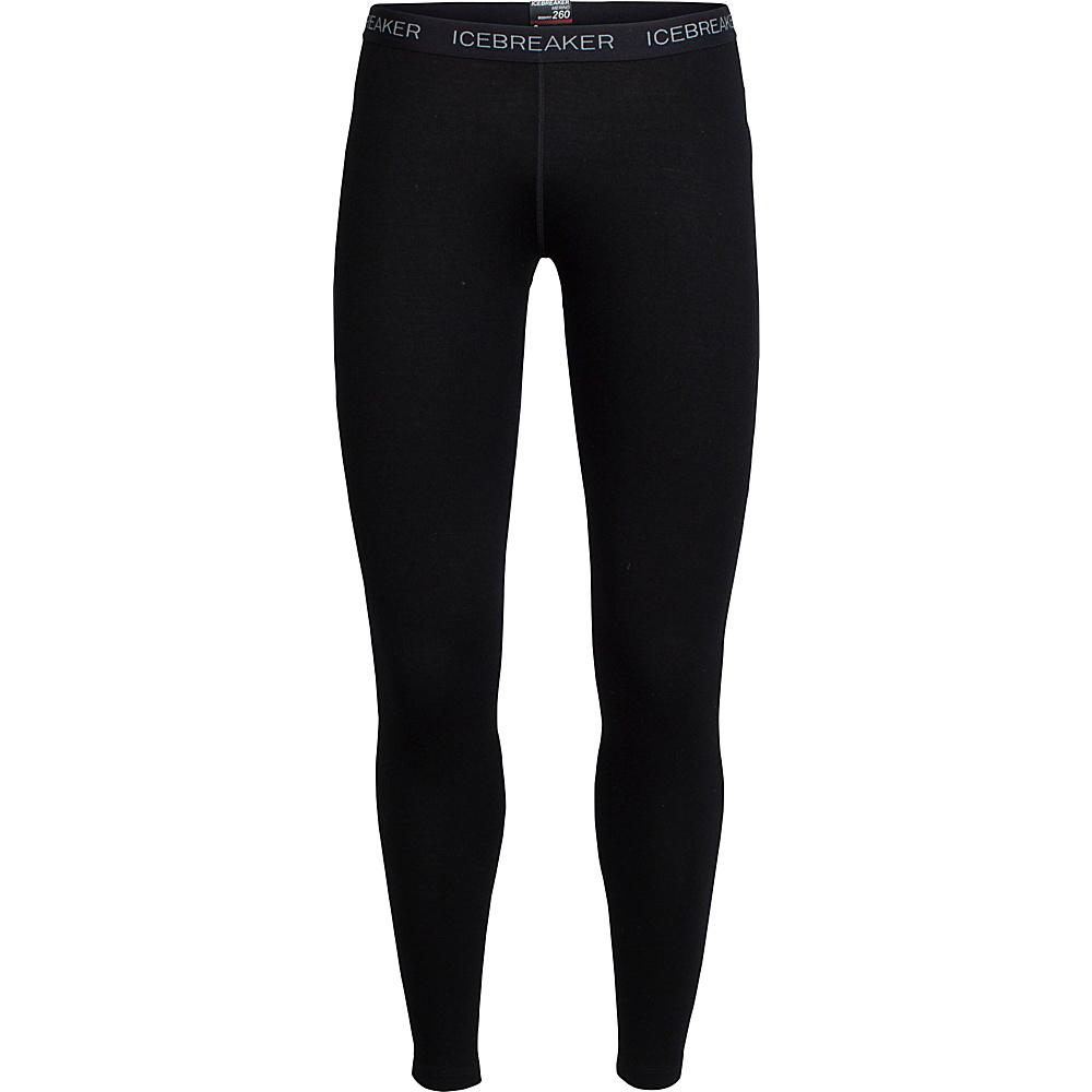 Icebreaker Womens Vertex Leggings L - Black - Icebreaker Womens Apparel - Apparel & Footwear, Women's Apparel