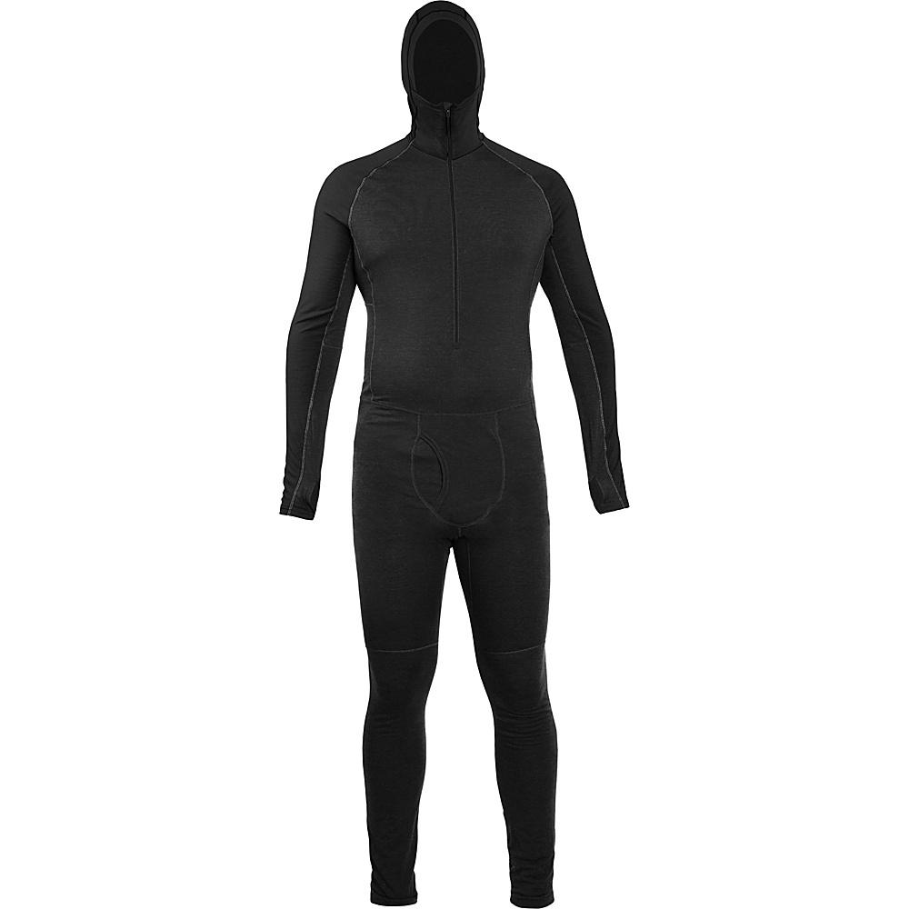 Icebreaker Mens Zone One Sheep Suit M - Black/Black/Black - Icebreaker Mens Apparel - Apparel & Footwear, Men's Apparel