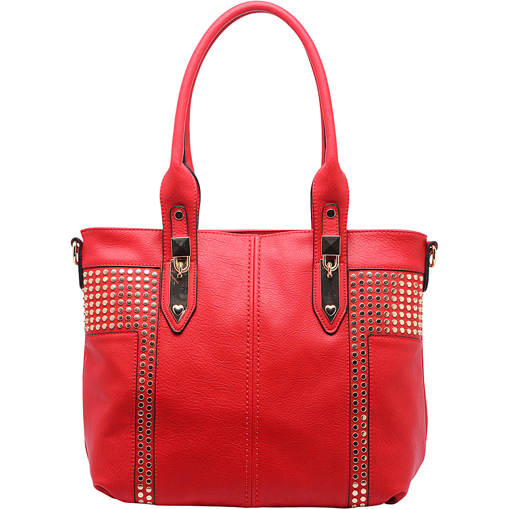 MKF Collection by Mia K. Farrow Adele Hobo Red - MKF Collection by Mia K. Farrow Manmade Handbags - Handbags, Manmade Handbags