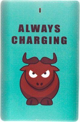 Zunammy Graphics Power Bank Green - Zunammy Portable Batteries & Chargers