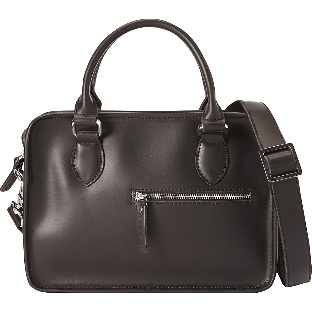Vagabond Traveler Classic Small Crossbody Black - Vagabond Traveler Leather Handbags - Handbags, Leather Handbags