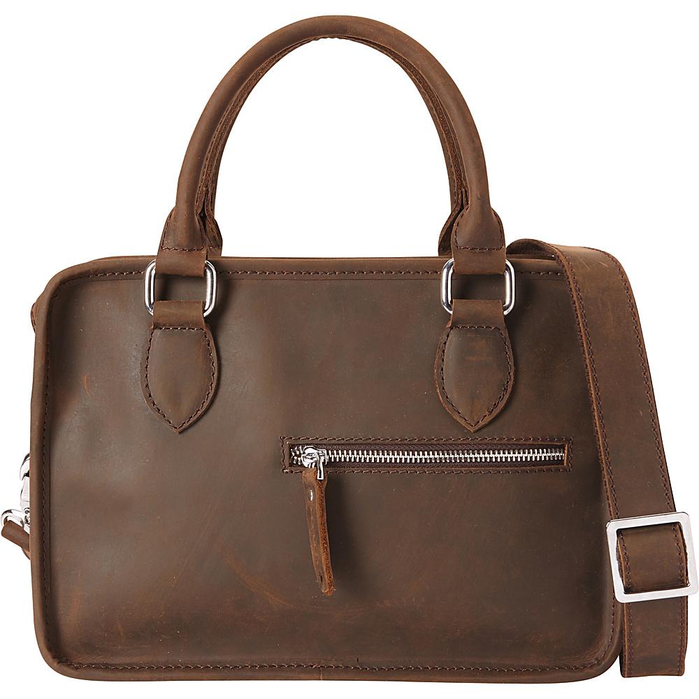 Vagabond Traveler Classic Small Crossbody Dark Brown - Vagabond Traveler Leather Handbags - Handbags, Leather Handbags