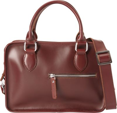 Vagabond Traveler Classic Small Crossbody Wine Red - Vagabond Traveler Leather Handbags
